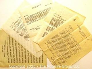 Collectible: Ephemera: 1944: Goodwill Council No. 15  Daughters of America