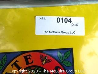Set of Reproduction Fruit Label Prints in Folder