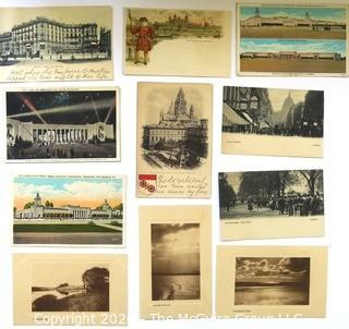 Group of Vintage Postcards.  Includes Some Real Photo Postcards.