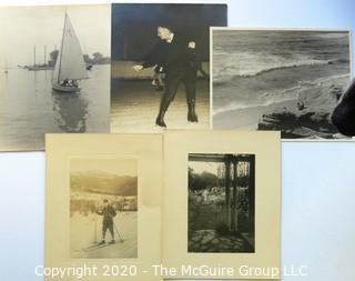Group of Five Vintage Black & White Photos.
