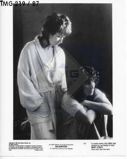 Photo: Print: Press Release: Vintage Movie: Silkwood - Cher & Streep