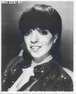 Photo: Print: Press Release: Movie Star: Liza Minnelli