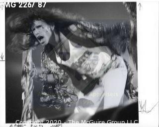 Photo: Print: Press Release: Artist: Musician: Steven Tyler Aerosmith