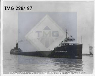 Photo: Historical: Commercial boat
