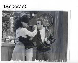 Photo: Print: Press Release: Vintage TV Show: Happy Days - Fonz