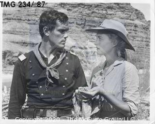Photo: Print: Press Release: Vintage TV Movie: Jeffrey Hunter movie