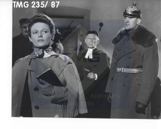 Photo: Print: Press Release: Vintage Movie: Nurse Edith Cavell 1939