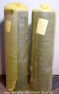 (2) Two New in Packaging Rolls of Rubber Tred-MOR Floor Sponge Cushion and Acoustic Systems Insulation; each roll 270 sq. ft.