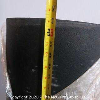 Lot of 2 Rolls of Rubber Floor Cushion and Acoustic Insulation.