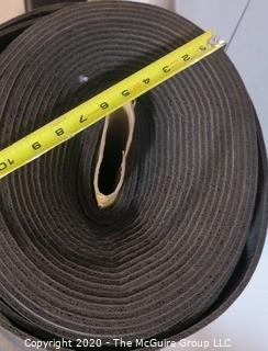 One Roll of Rubber Floor Cushion and Acoustic Underlayment; 6mm thick; approximately 200 sq. ft.