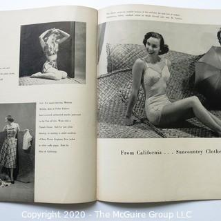 One 1950 Edition of The Californian Magazine - Fashion, Art & Leisure.