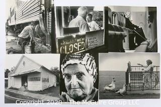 Collection of Black & White Large Format Photographs of Rural Life