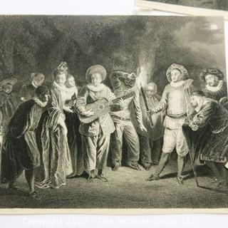 Collection of 8 Lithographs