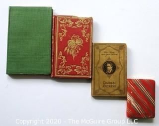 Four Small Format Antique Books of Literature