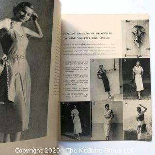 Two 1948 & 1951 The Californian Magazines - Fashion, Art & Leisure.