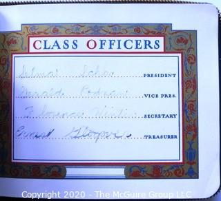 1941 Autograph Book from Herman Ridder Junior High School Bronx, New York.