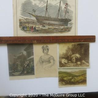 Group of Color Lithographs