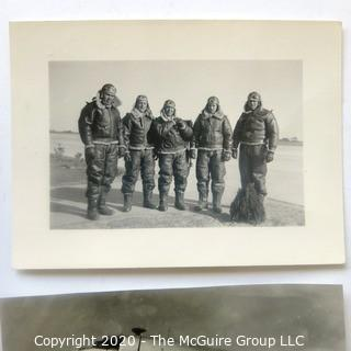 Collection of WWII Black & White Photos.  Includes Zeppelin and Fighter Pilots.