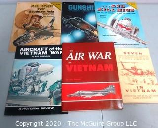 Group of Military Themed Paper Back Books Including Vietnam