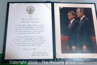 Large Collection of Vintage Political Items including Inauguration Ephemera