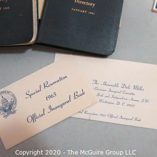 Group of Vintage Political Memorabilia