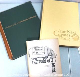 Vintage Books on Cartooning