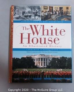 """Collection of Books Including Washington DC Coffee Table Books and a Signed Copy of """"Active Liberty"""" By Stephen Breyer, Retired Supreme Court Justice."""
