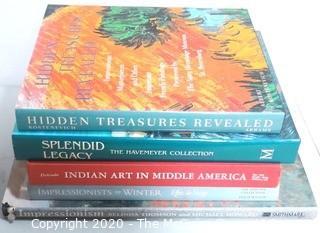 Five Coffee Table Art Books