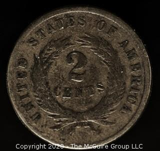 1864 Two Cent Large Motto
