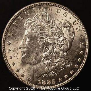 1885 Morgan Dollar