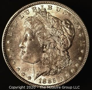 1885 Morgan Dollar