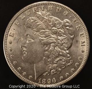 1896 Morgan Dollar