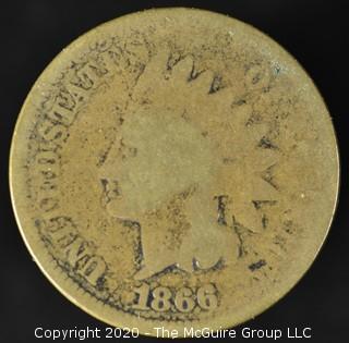 1866 U.S. Indian Head Penny