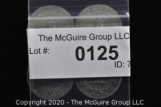 (4) 1956 U.S. Silver Quarters