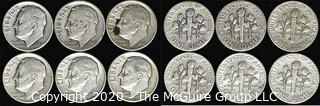 (6) 1948 U.S. Silver Dimes