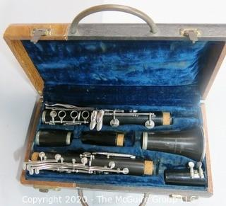 Vintage Boosey & Hawkes Jazz Clarinet with Original Case