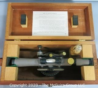 Vintage Craftsman Transit in Wood Case