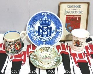 Collection of British Royal Coronation Items