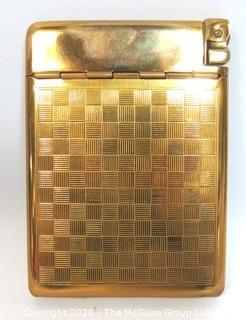 Vintage 1950's Mid Century Modern Royal Case Lite Cigarette Case & Lighter