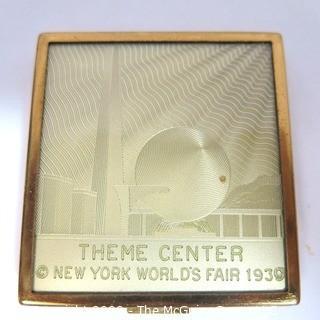 1939 World's Fair New York City Compact - Theme Center