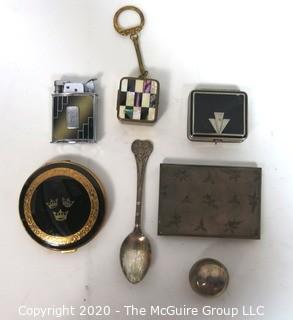 Group of Vintage Dresser or Vanity Items