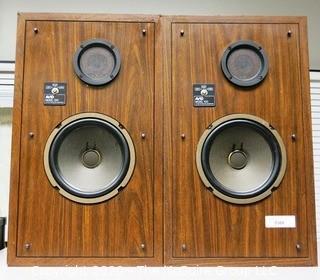 Pair of Vintage Speakers, AVID Model 100