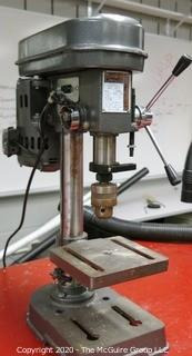 Table Top Guardian Power Heavy Duty 5-Speed Drill Press.  As is.