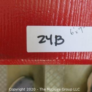 "9"" x 6' Original Wood Bleacher Bench from the Pit."