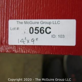 "9"" x 14' Original Wood Bleacher Bench from the Pit"