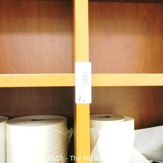 7' x 6' Wooden Cabinet Shelf with 24 Square Cubbies; 2 pieces