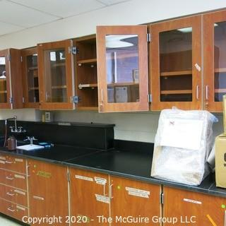 Science room cabinetry, you must uninstall and remove what you want.