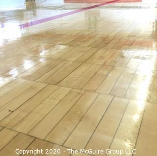 """(1) 2 x 12"""" Floor Board from the """"Pit"""" Basketball Hard Court. Own a Piece of George Mason Basketball History."""