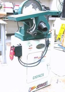 Grizzly Floor Model 1014ZX Belt Disc Sander, as is.
