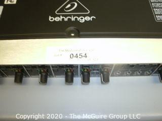 Behringer Ultrazone Rackmount ZMX8210 8 channel 3 bus mic/line/zone mixer.  As is.